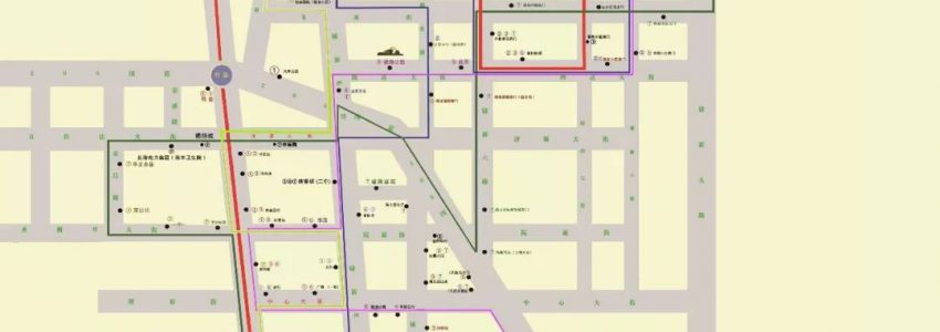 因棣新五路施工3、7路公交线路临时调整