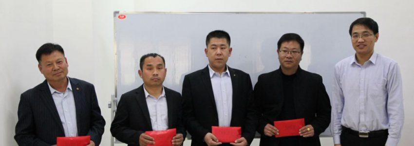 2月份生产大比武颁奖典礼于3月10日在智诚股份滨州运营中心顺利召开