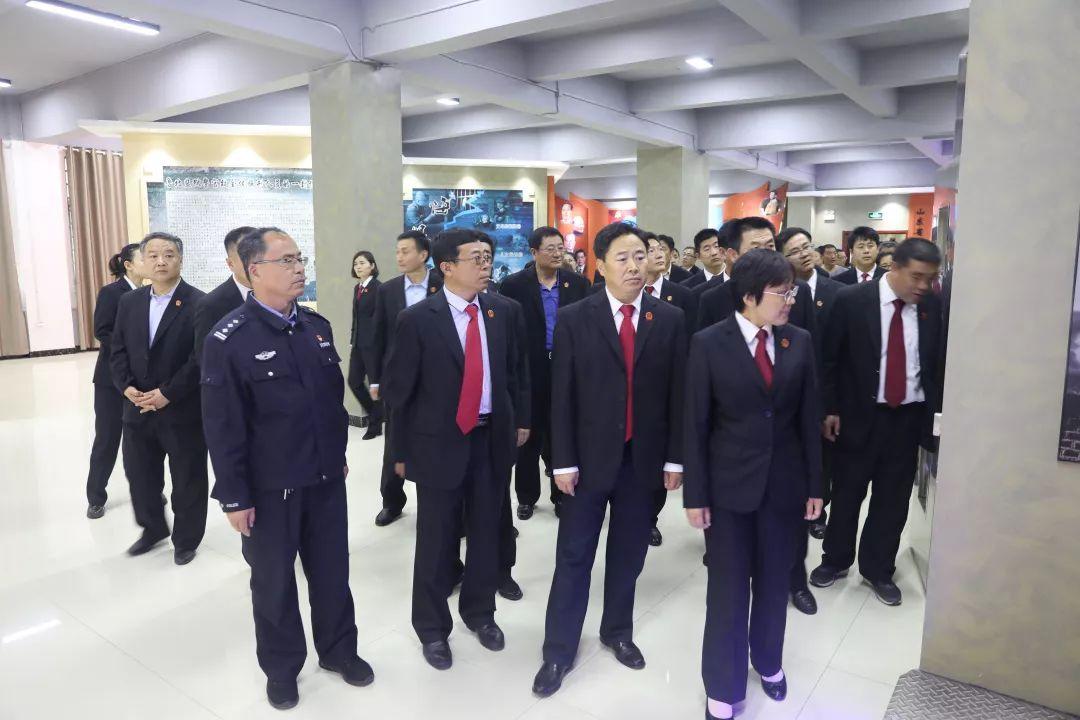 无棣法院组织干警到鲁北监狱接受警示教育