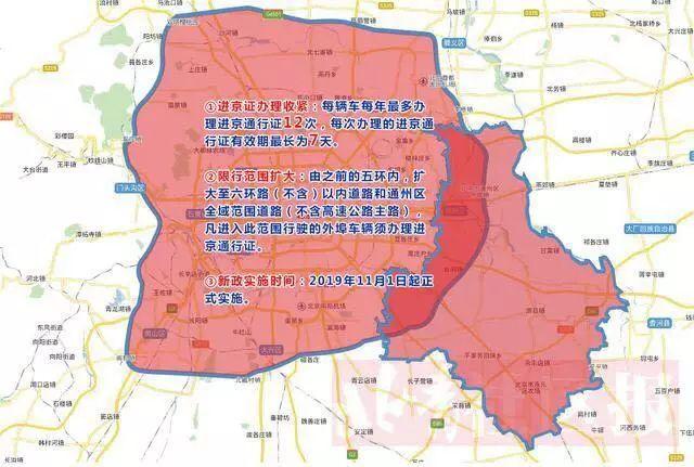 北京限制外地车进京次数,停在北京也不行!11月起执行!