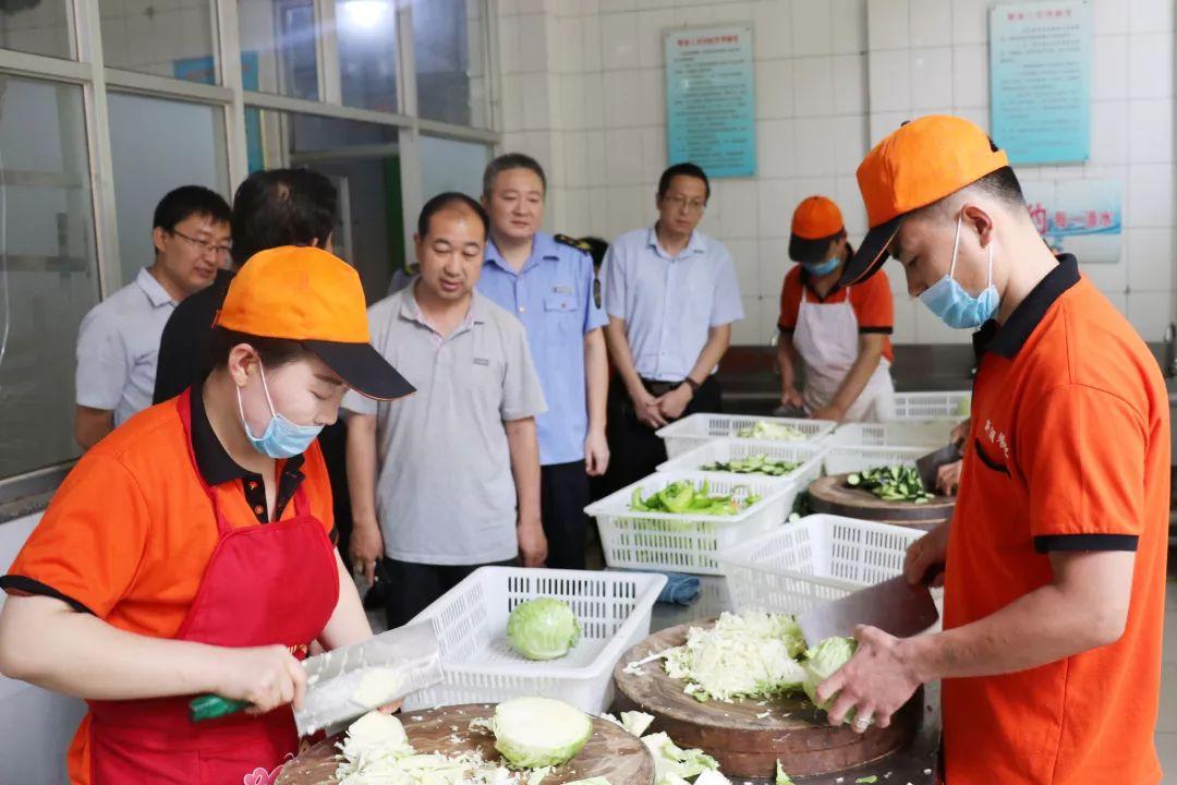 无棣县市场监管局全力保障中高考期间食品安全