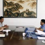 副县长张庆华到无棣县市场监管局调研扫黑除恶专项斗争工作