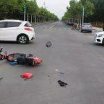 骑电动车与汽车相撞,交警认定电动车负事故全部责任!