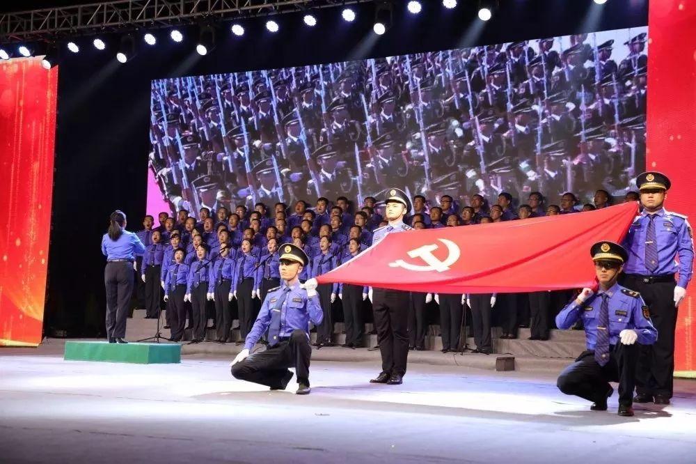 """""""红心永向党·建功新时代"""" 无棣县举办庆祝建党98周年红歌合唱比赛"""