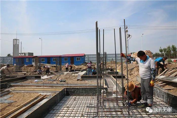 无棣经济开发区加足马力建标准厂房 年内将建成16万平方米
