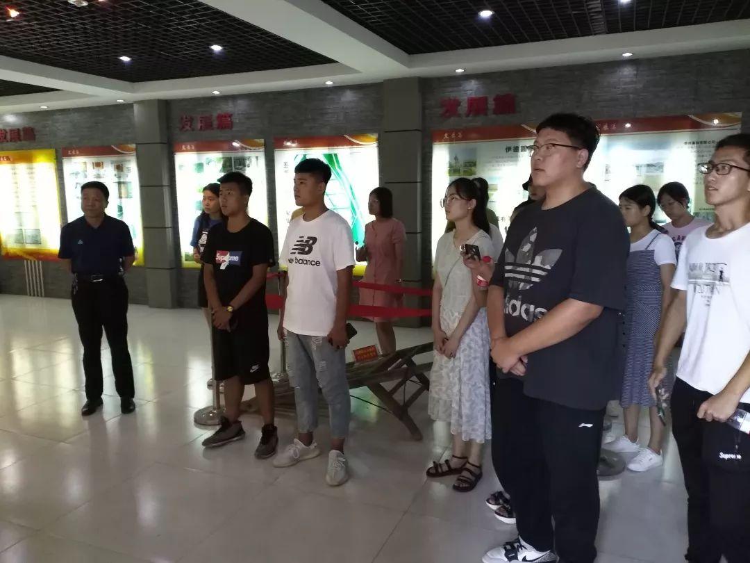 """团县委开展无棣县暑期公益实习生""""家乡行""""活动"""