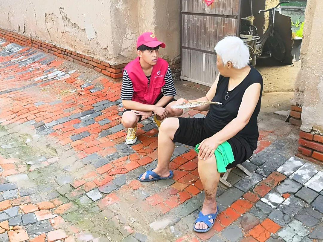 无棣团县委组织青年志愿者开展志愿服务活动