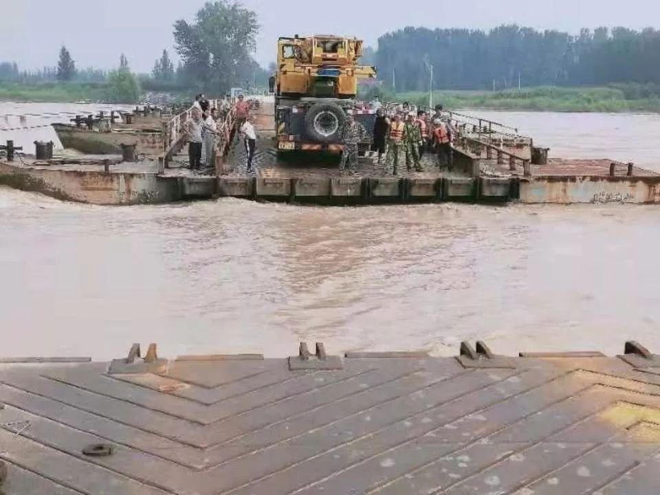 滨州境内多座浮桥恢复通车,市民可调整出行规划!