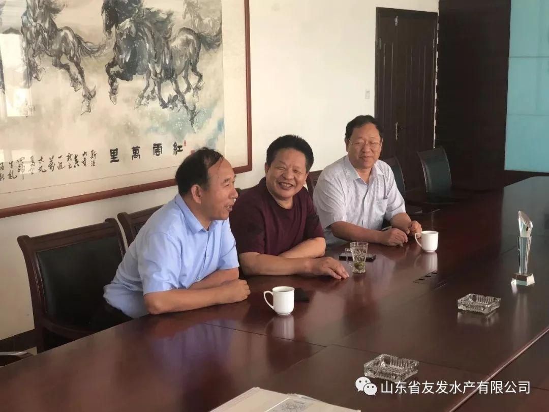 无棣县民营企业高质量发展服务一队走访调研山东省友发水产有限公司