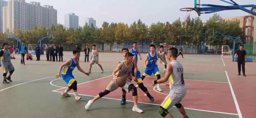 """无棣二中荣获第三届""""县长杯""""校园足球联赛暨篮球、乒乓球比赛高中组团体总分第一名"""