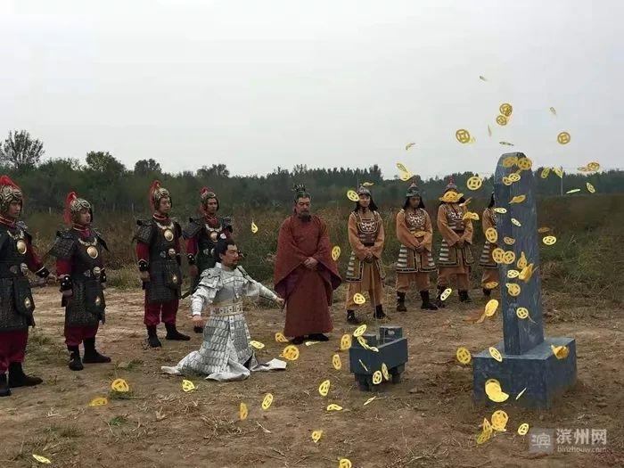 11月18日,无棣微电影《信阳古城》举行首映式