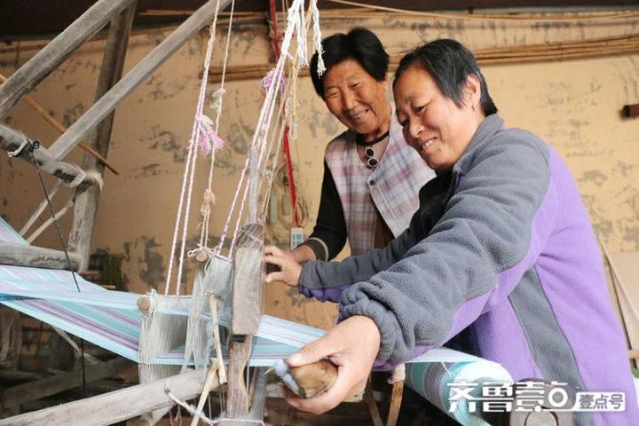 """经纬一线近半个世纪的传承,63岁无棣老人织出""""五彩""""生活"""