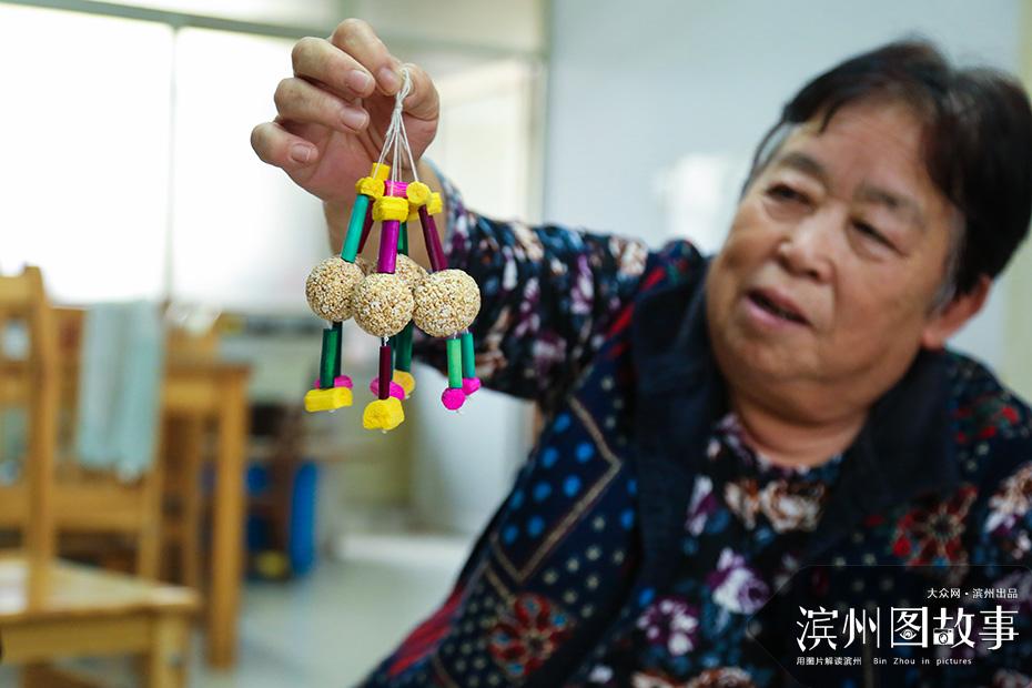 无棣民间小吃欢喜团 串起来的吉祥 抟出来的传承