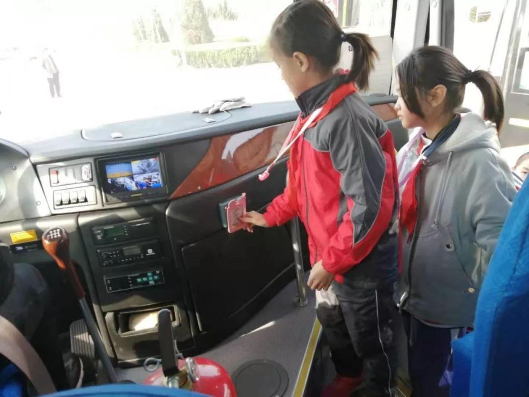 创新管理服务 守护学生平安 无棣校车在行动!