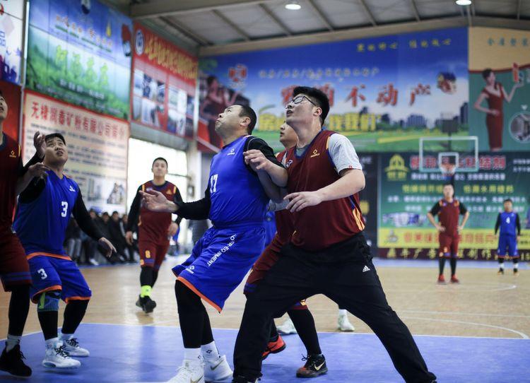"""庆祝新中国成立70周年,2019年无棣县第五届""""润泰杯""""篮球赛胜利闭幕!"""