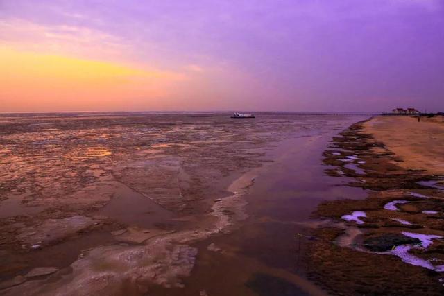 2020向海而兴 贝壳堤岛迎接新年第一缕曙光