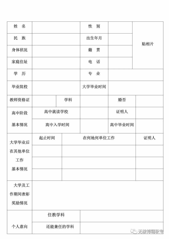 无棣县博翱职专(滨州交通职业中等专业学校)教师招聘简章