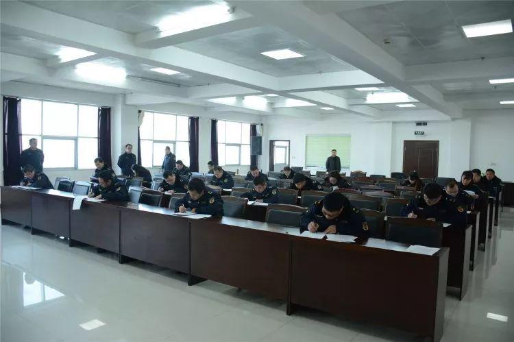 无棣县综合行政执法局举行2020年首次执法技能考核