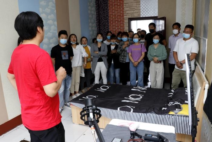 无棣对30余名乡村好青年进行电商直播专题培训