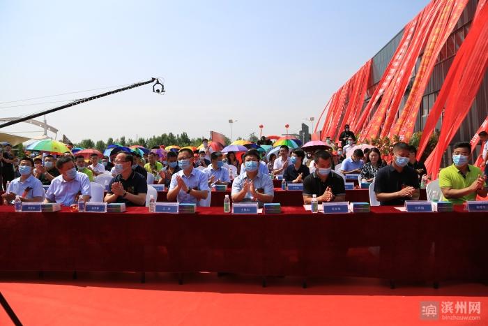 滨州赫胜电力有限公司充电桩项目在无棣启动