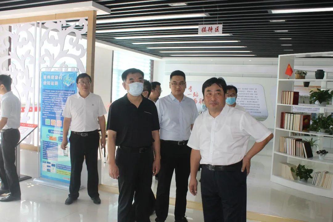 县委书记丁锋调研团代表联络站