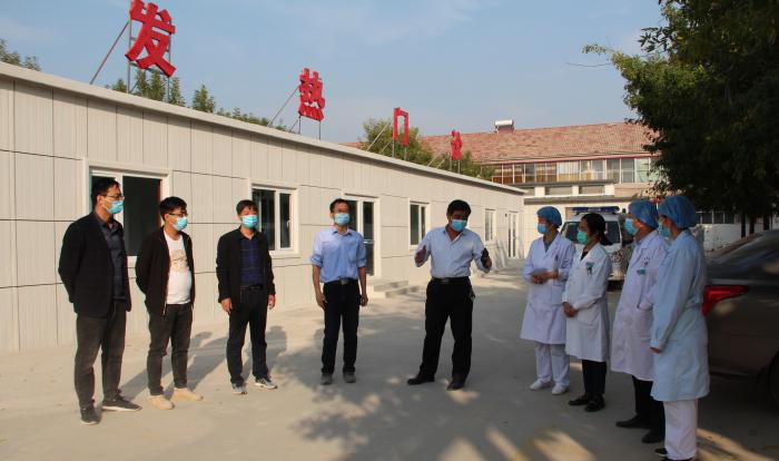 无棣车王镇中心卫生院开展应对秋冬季新型冠状病毒肺炎应急演练