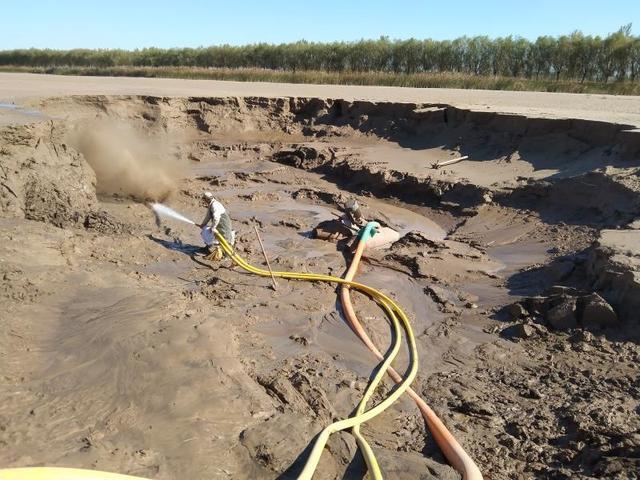 无棣县小开河沉砂池清淤工程顺利开工