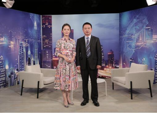 """""""山东鲁北企业集团""""董事长吕天宝做客《崛起中国》"""