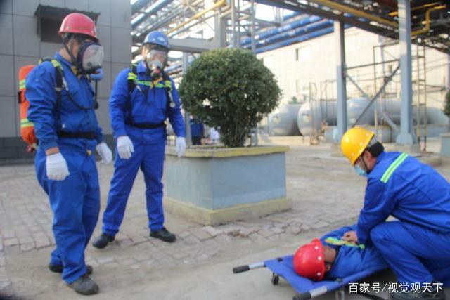 山东:无棣进行危化品安全事故应急救援演练