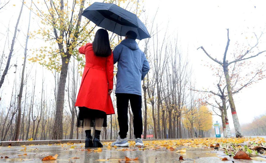 无棣,邂逅初冬第一场雨