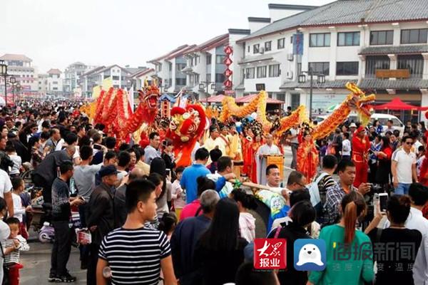无棣县打造古城特色步行街促进商业大繁荣