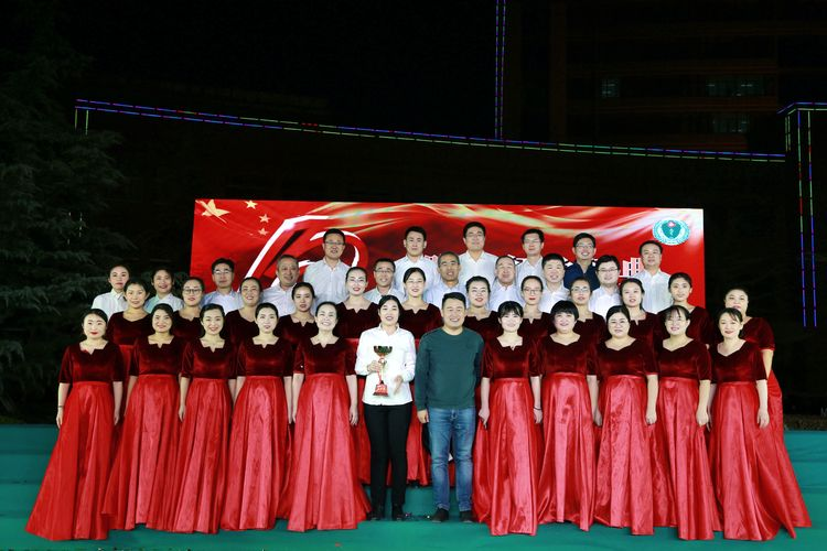 无棣县人民医院举办新院搬迁十周年歌咏比赛