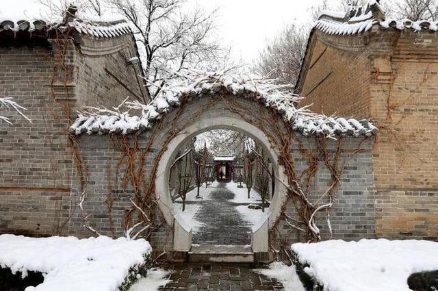 我在无棣古城等了一场冬与春的邂逅